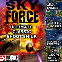 Handyspiel Sky Force