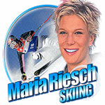 Handyspiel Maria Riesch Skiing