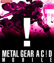 Handyspiel Metal Gear Acid Mobile