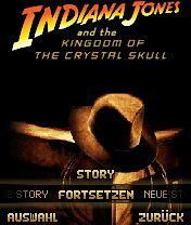 Handyspiel Indiana Jones und das Königreich des Kristallschädels - Das Handyspiel